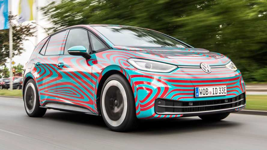 2020 VW ID.3 teased for the last time ahead of Frankfurt reveal