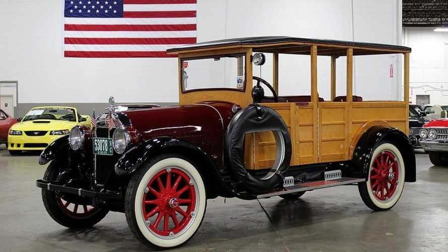 Historic 1923 Buick 45 Series Depot Hack Up For Grabs