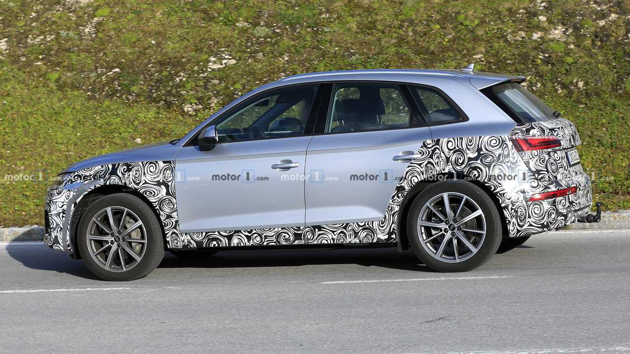 2021 Audi Q5 Facelift Spy Photo - 4321907