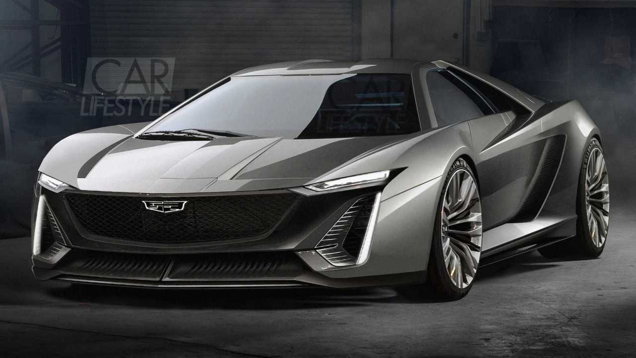 Mid-engined Cadillac supercar