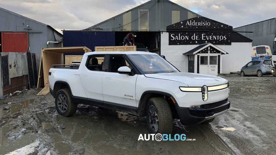 Rivian R1T Reveals Design Changes At Tierra Del Fuego Shots