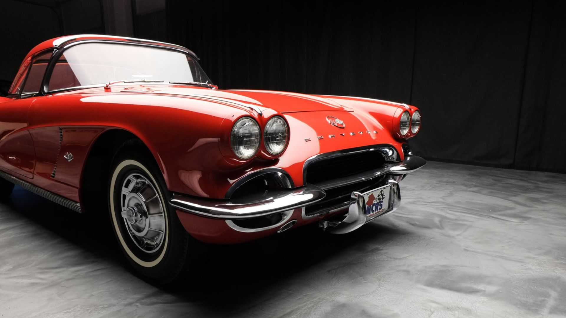 "[""Treat Yourself To A Red 1962 Chevy Corvette""]"