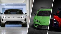 porsche taycan acceleration versus supercars
