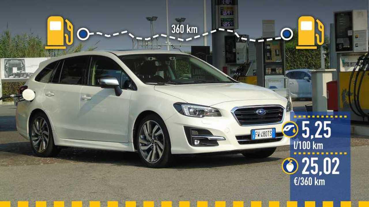 Prueba de consumo real Subaru Levorg 2.0i