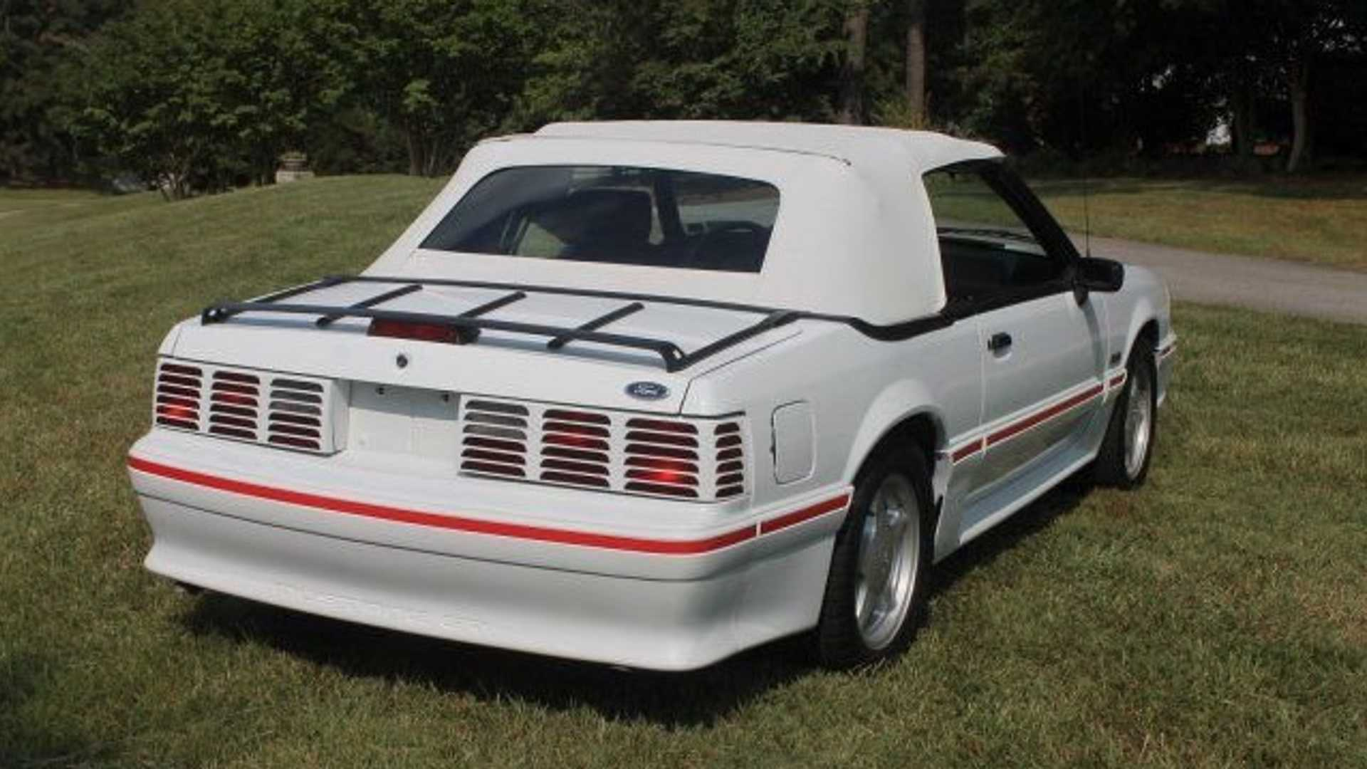 "[""Get Foxy In This 1988 Ford Mustang GT Convertible""]"