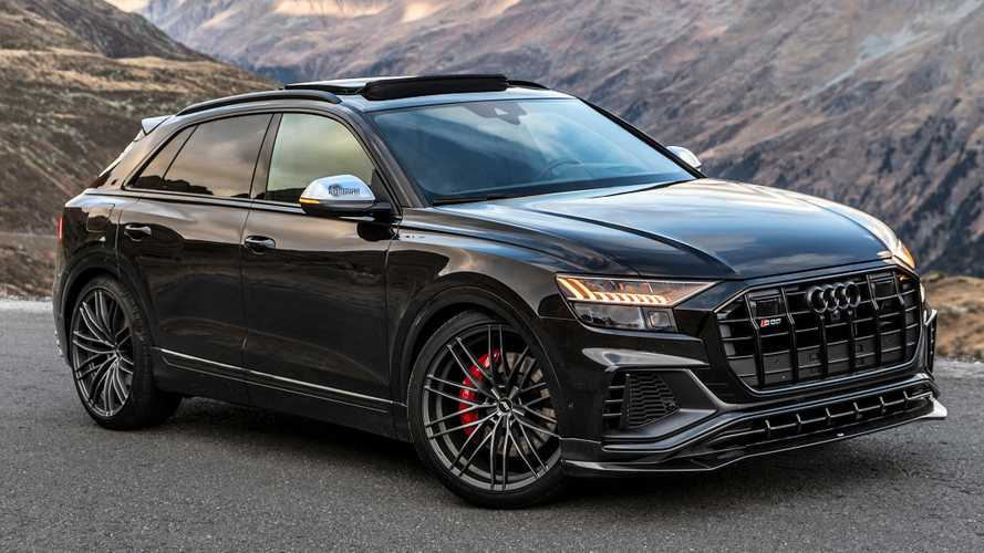 Audi SQ8 gets 23-inch wheels, mountain-moving torque from ABT