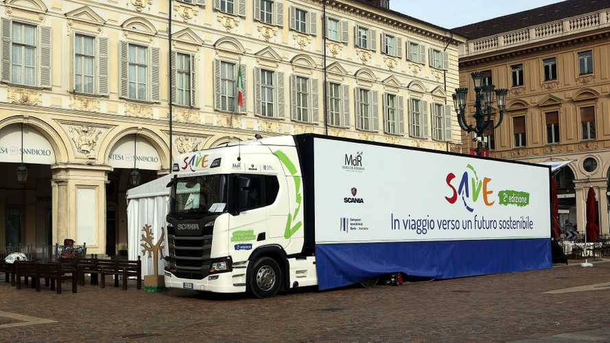 SAVE tour, riparte lo Scania Discovery Truck
