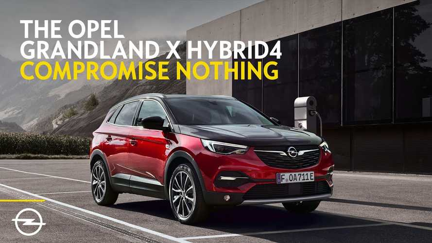Opel Advertises Grandland X Hybrid4 As A No Compromise Choice: Video