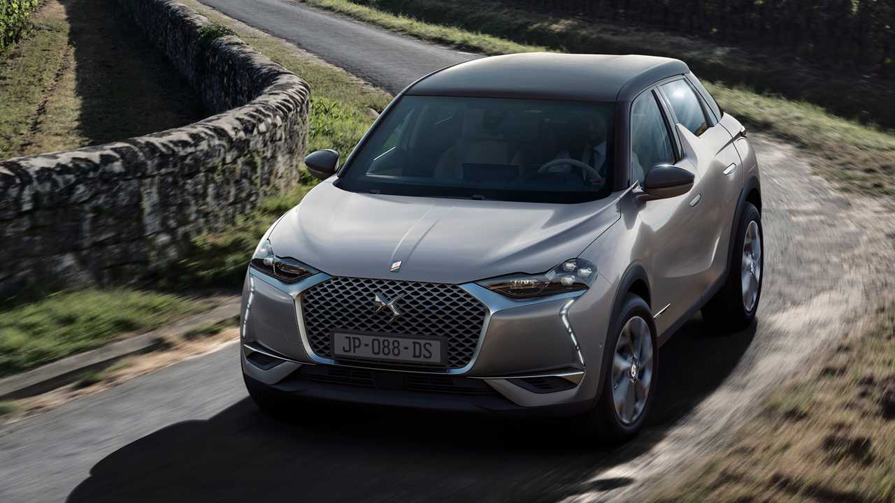 DS 3 Crossback E-Tense (320 км)