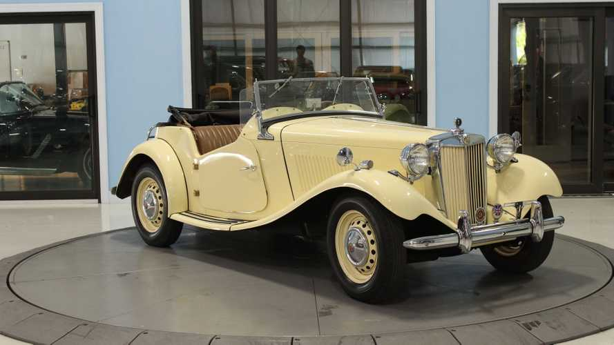 Buy This Legit 1952 MG TD Roadster For $25K
