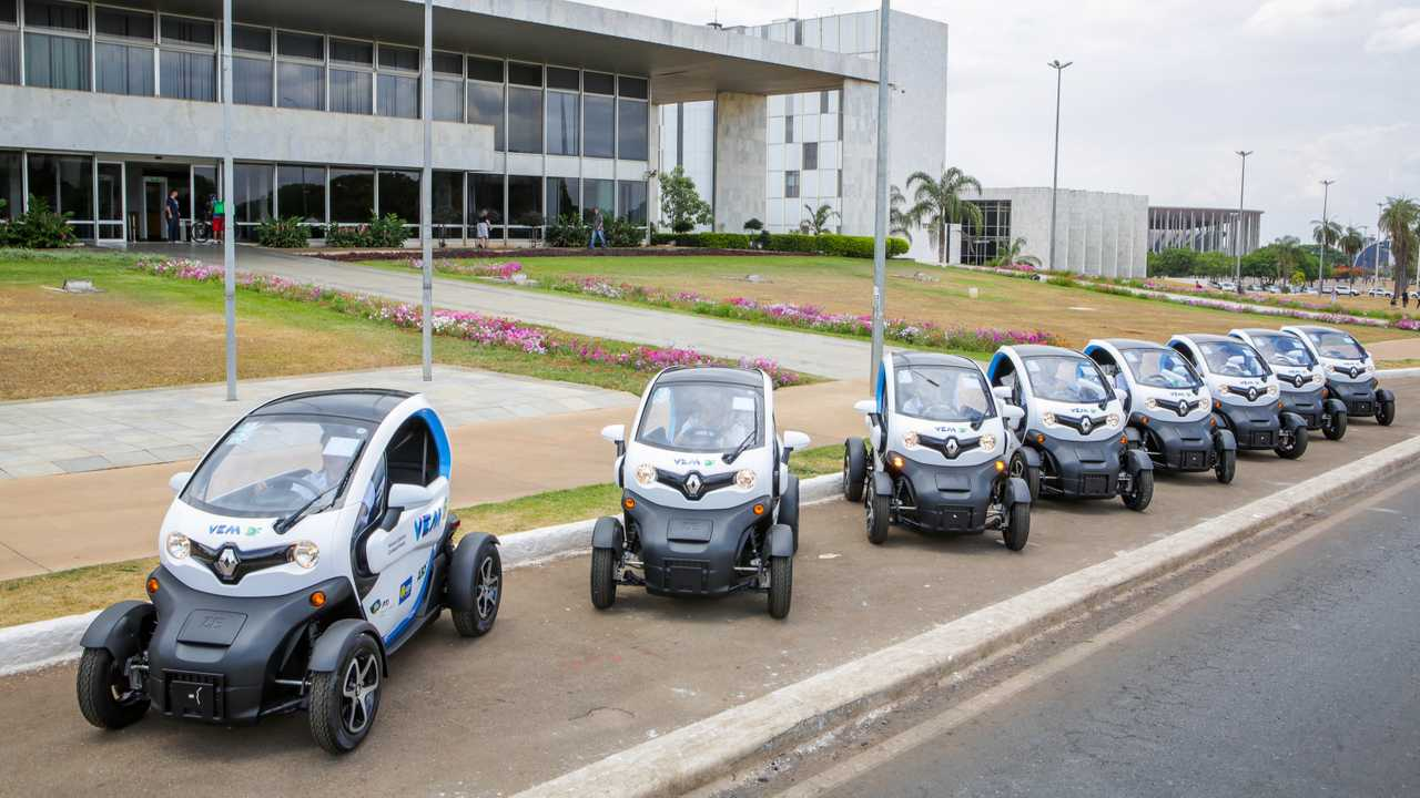 Renault Twizy - Frota compartilhada em Brasília