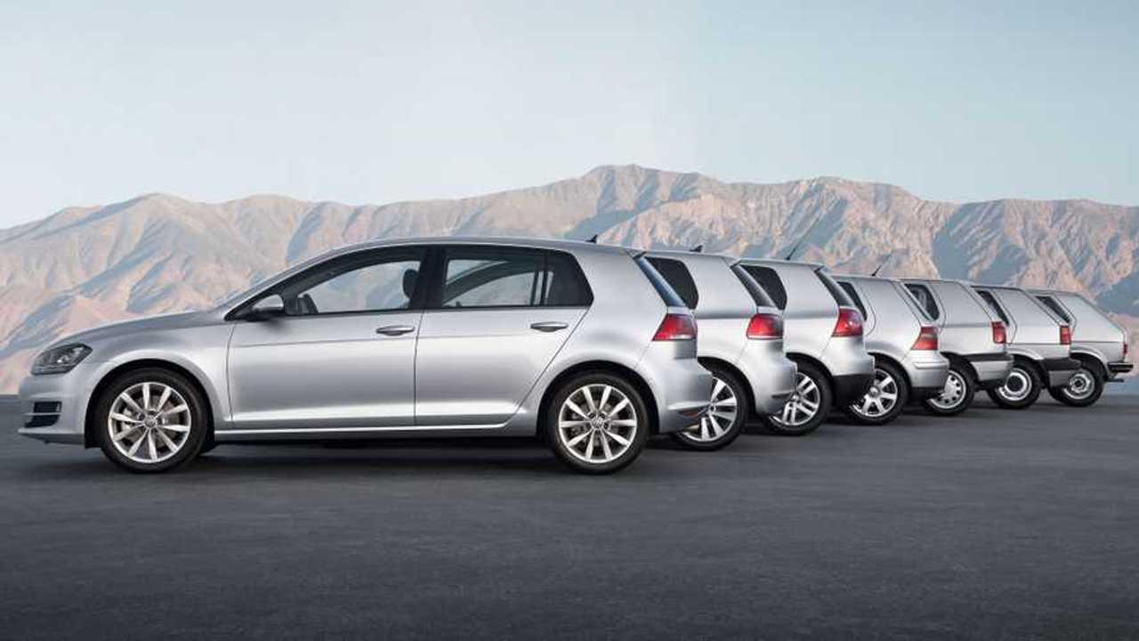Copertina Volkswagen Golf, la classifica delle vendite di tutte le generazioni