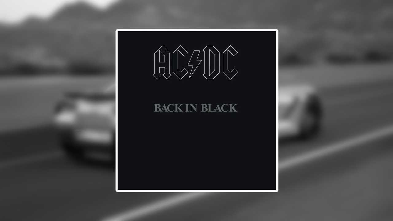 9. Back In Black - AC/DC (tie)