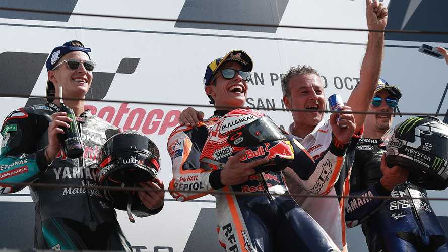 MotoGP: Marquez vence na última volta GP de San Marino - veja resultado