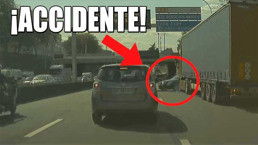 Truck Hit And Run Captured On Video: Help Find The Hitter