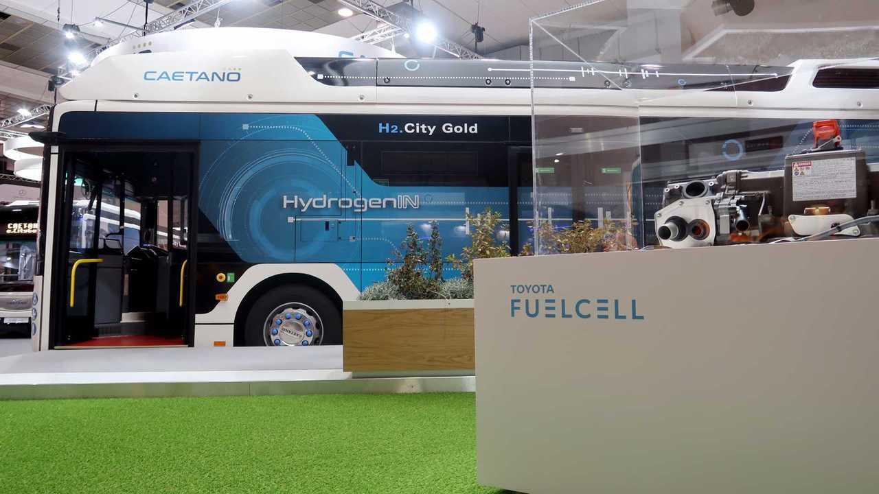 Ônibus a hidrogênio - Toyota