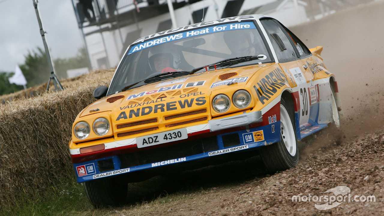 Russell Brookes, 1985 Opel Manta 400 at Goodwood FoS 2008