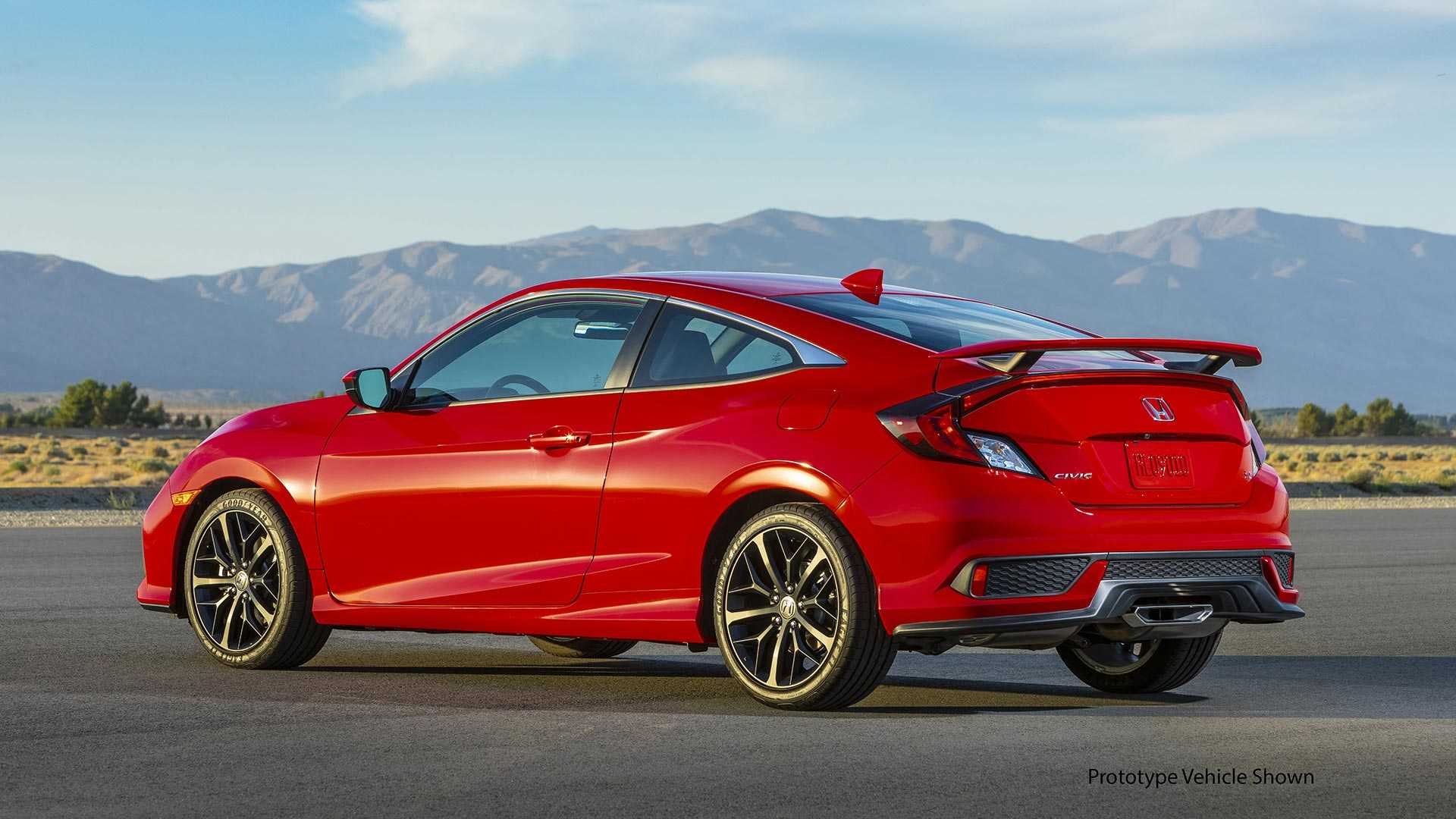 2020 Honda Civic Si Exterior and Interior