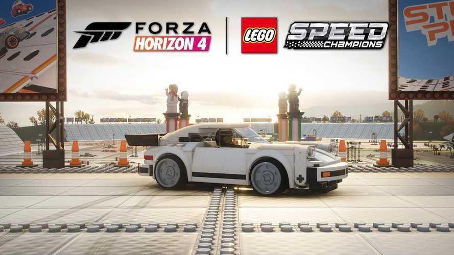 La Porsche 911 Turbo Lego entre dans Forza Horizon 4