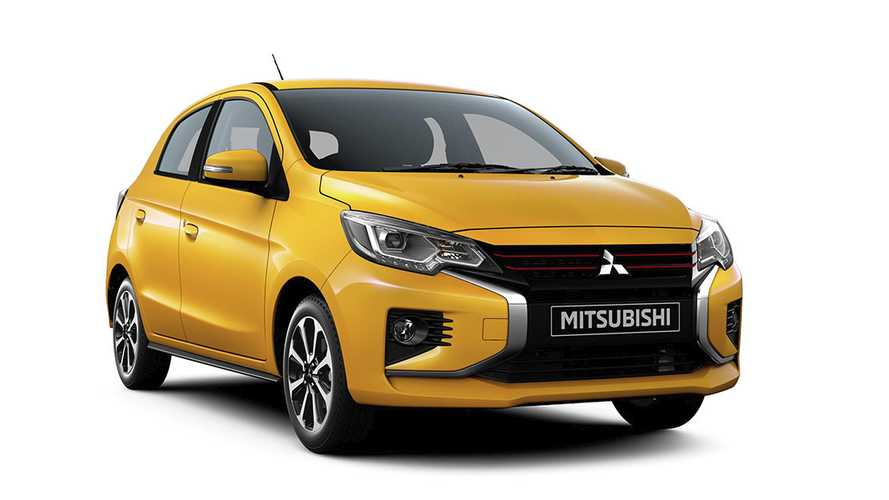 Mitsubishi Space Star (2020): Neue Version mit fetter Chromspange