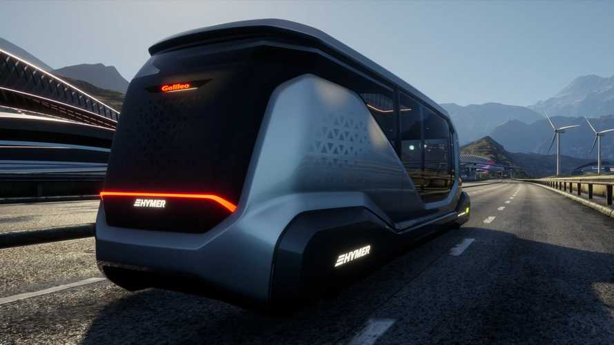 Hymer Galileo Concept envisions driverless motorhome of the future