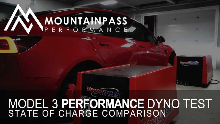 How Much Does State Of Charge Impact Tesla Model 3 Performance HP?