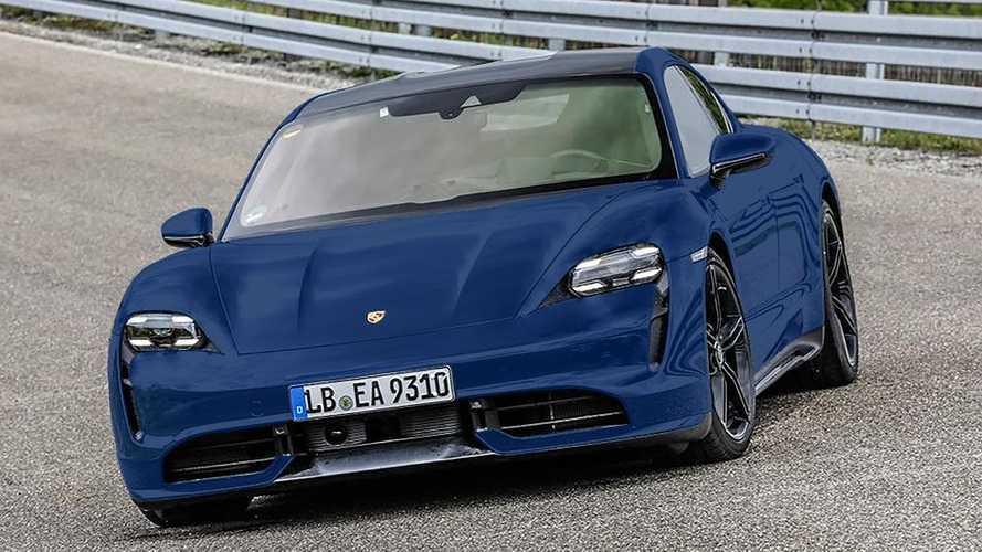 Porsche Taycan Renders