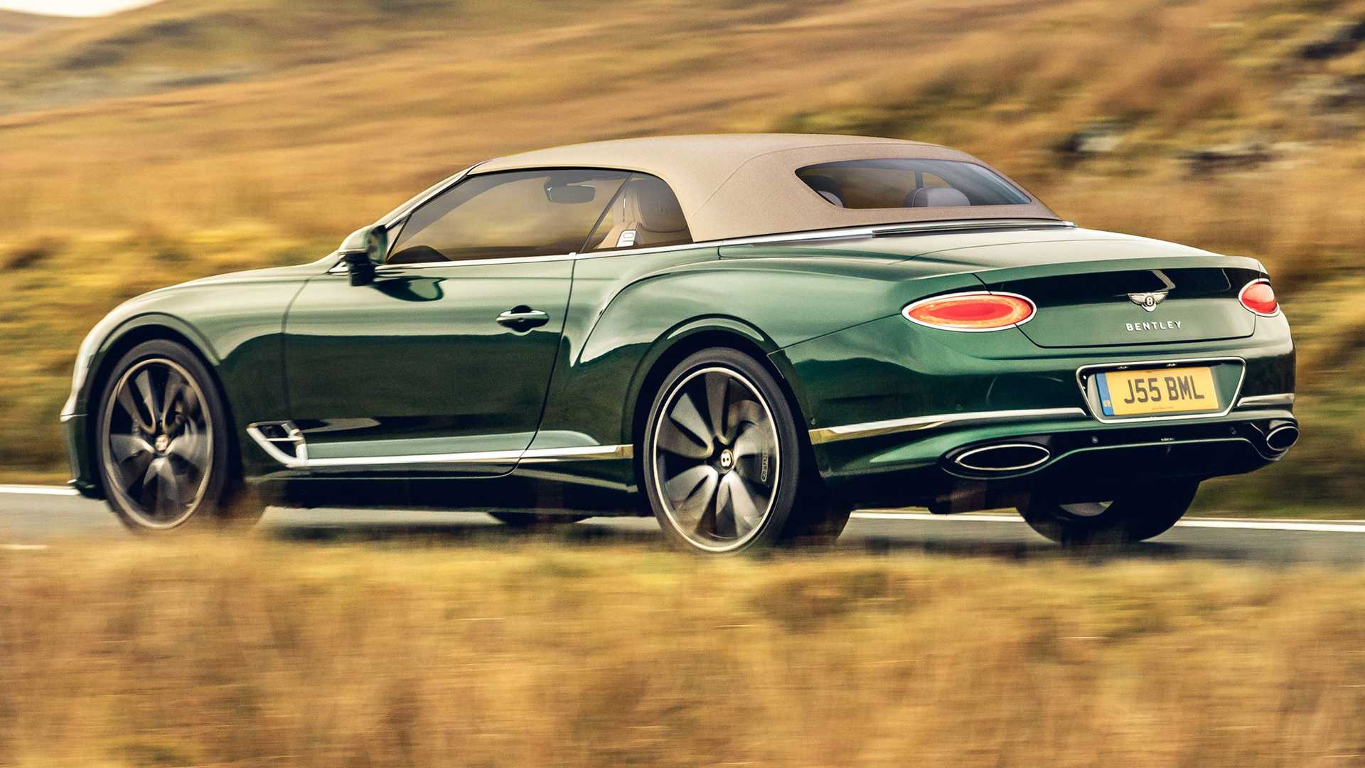 Bentley Continental GT Convertible Goes Retro With Tweed Top