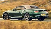 Bentley Continental GT Convertible Tweed Roof