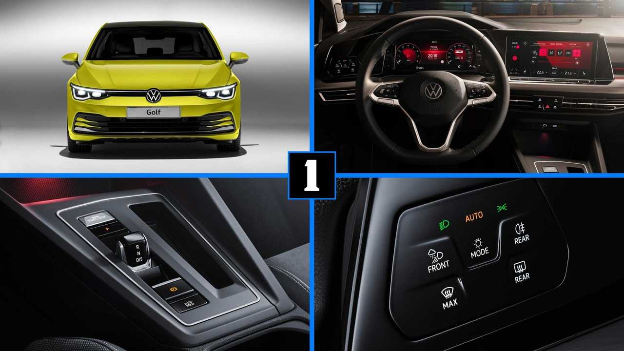 vw golf     top   features