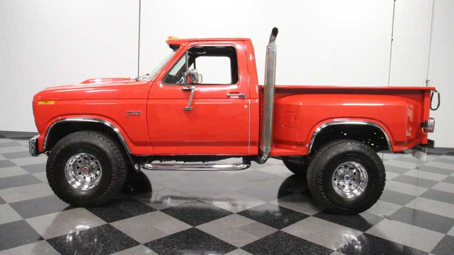 Nothing Li'l About This Custom 1985 Ford F-150 4x4