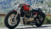 triumph thruxton custom build tamarit stalker