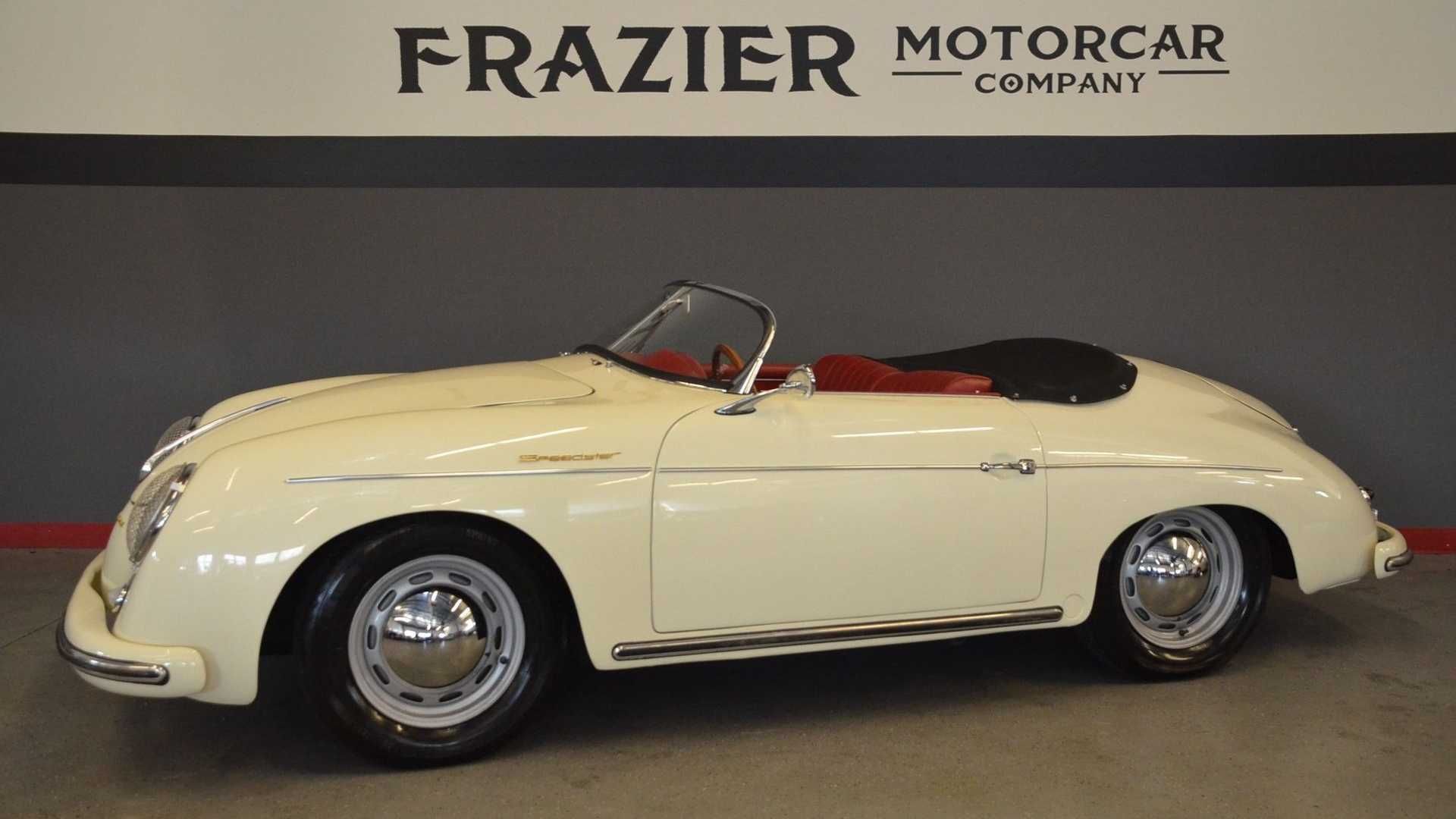 "[""For $290K, Roll Out In This Freshly Restored 1956 Porsche Speedster""]"