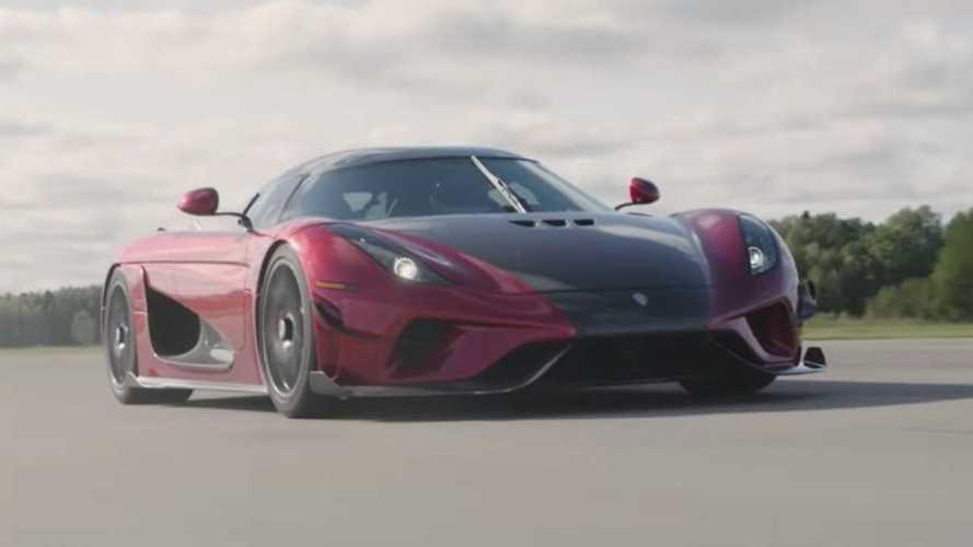 Koenigsegg nos enseña un minivideo, con el Regera como protagonista