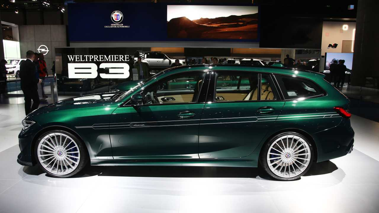 BMW Twin Turbo >> Alpina B3 Touring debuts as the ultimate compact performance estate