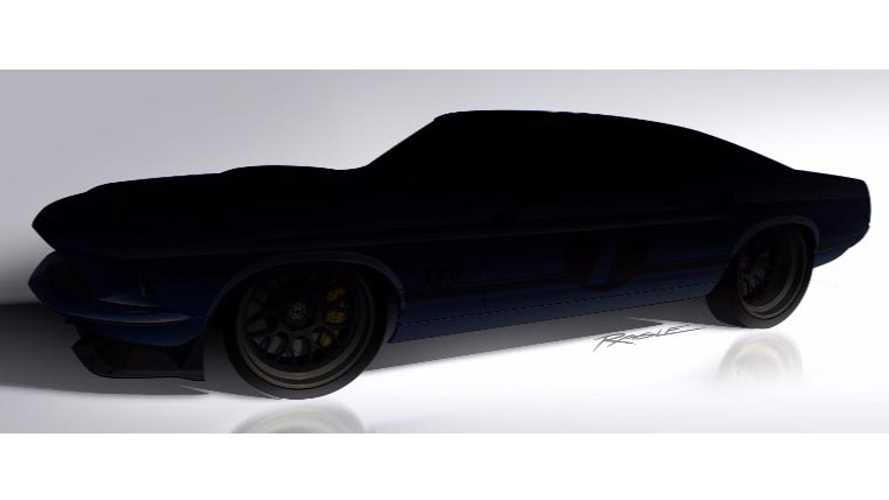 "Ringbrothers Teases Custom '69 Camaro And ""69 Mustang Mach 1 For SEMA"