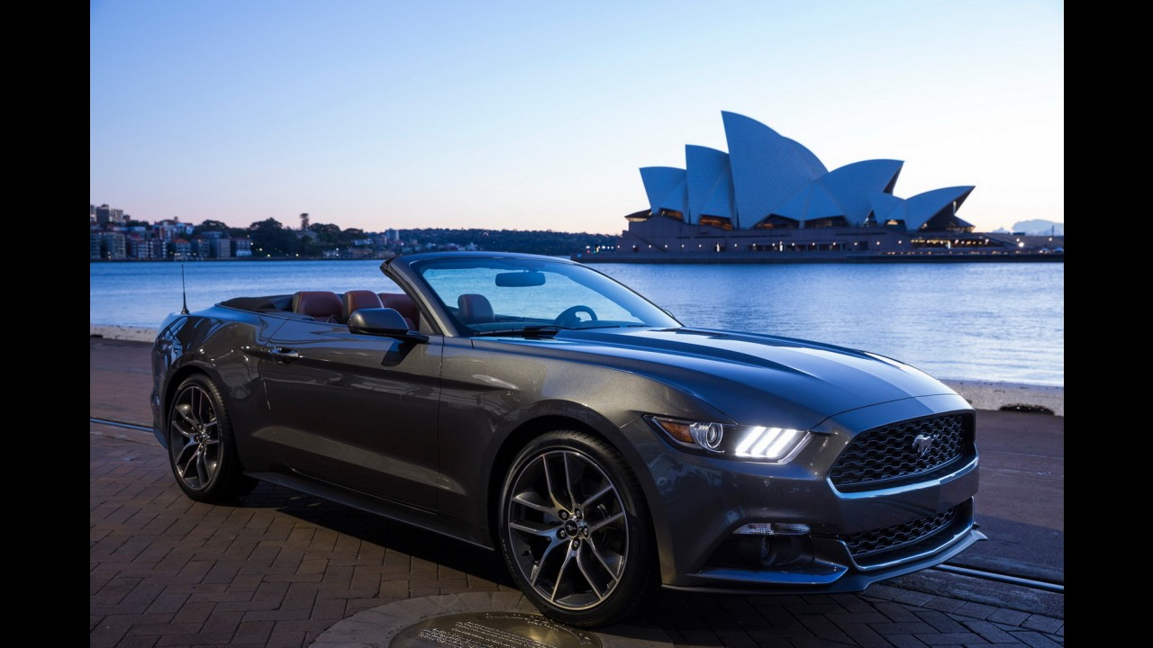 Ford Mustang foi o cupê esportivo mais vendido do mundo - Brasil ainda aguarda