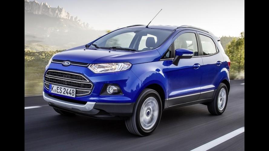 """EcoSport """"emplaca"""" na Europa e Ford confirma produção na Romênia"""