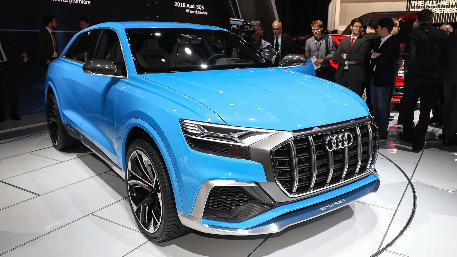 Audi Q8 Concept Previews Future Flagship Coupe Suv