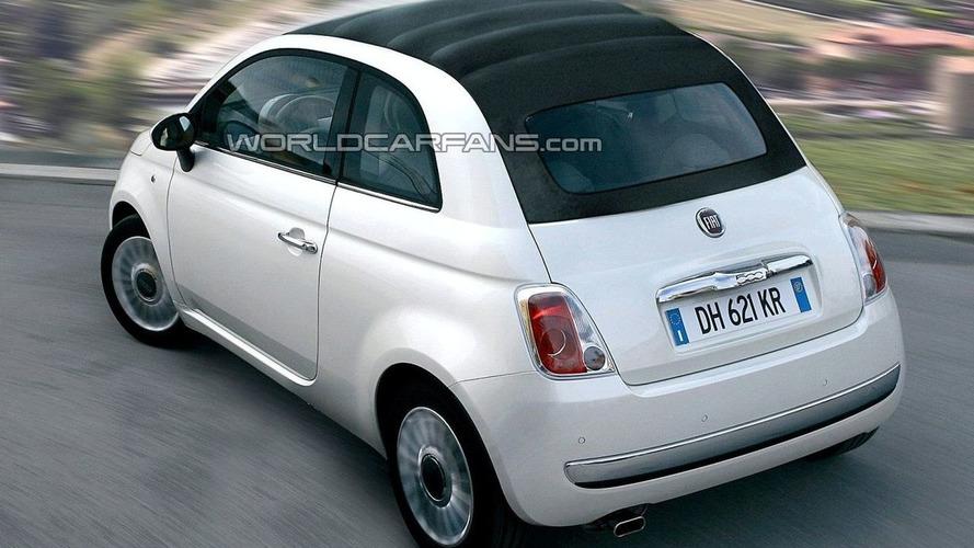 First Look: Fiat 500 Cabrio Spied & Rendered