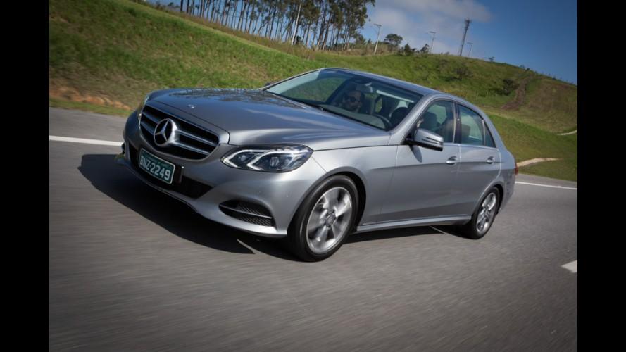 Mercedes convoca mais de mil Classe E e CLS no Brasil por risco de incêndio