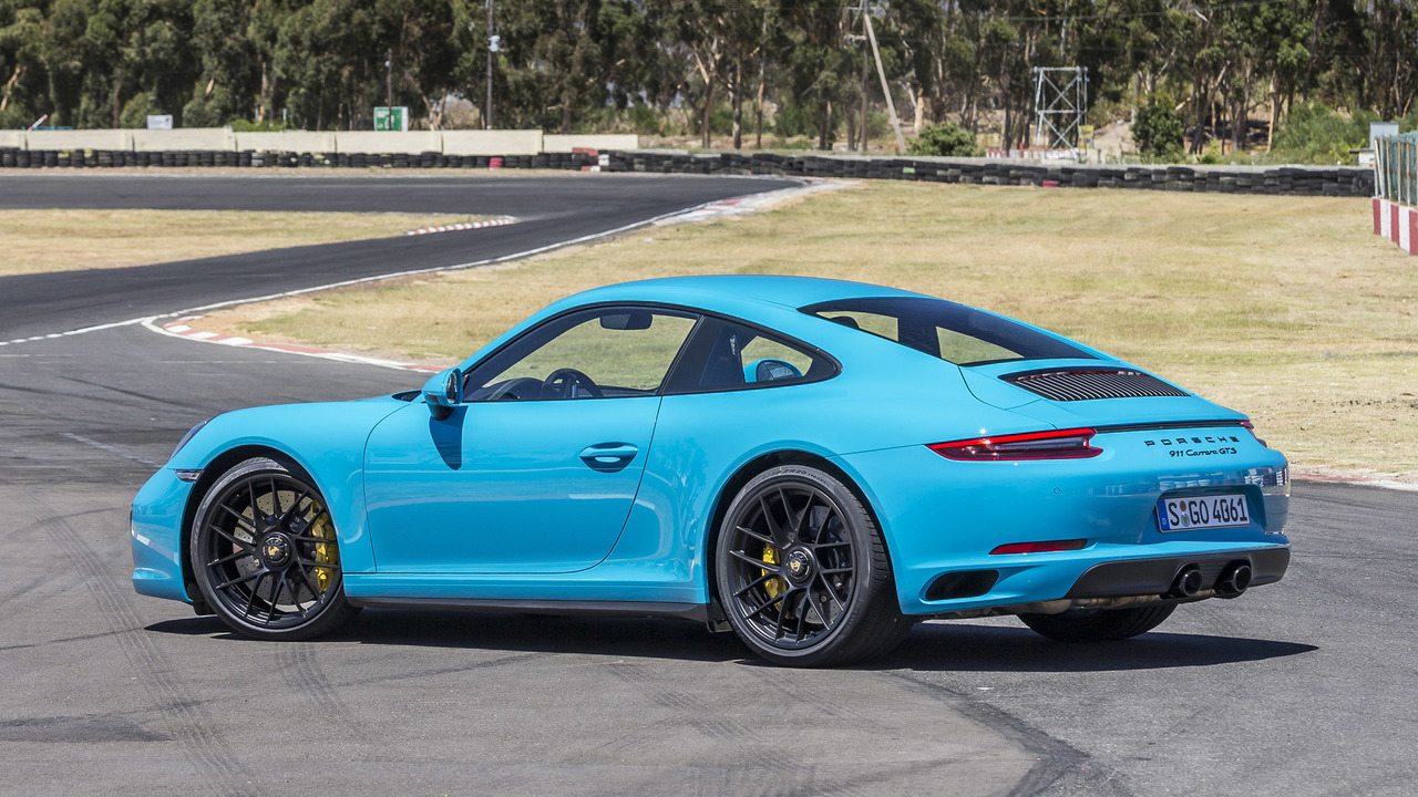 2017 Porsche 911 Carrera Gts First