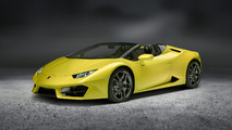 2017 Lamborghini Huracan LP 580-2 Spyder photos officielles