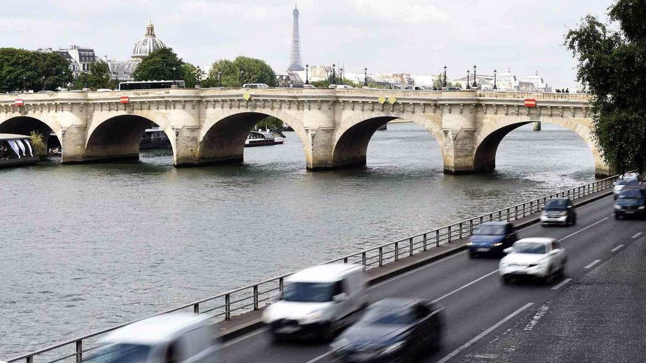 Voies sur berges Paris