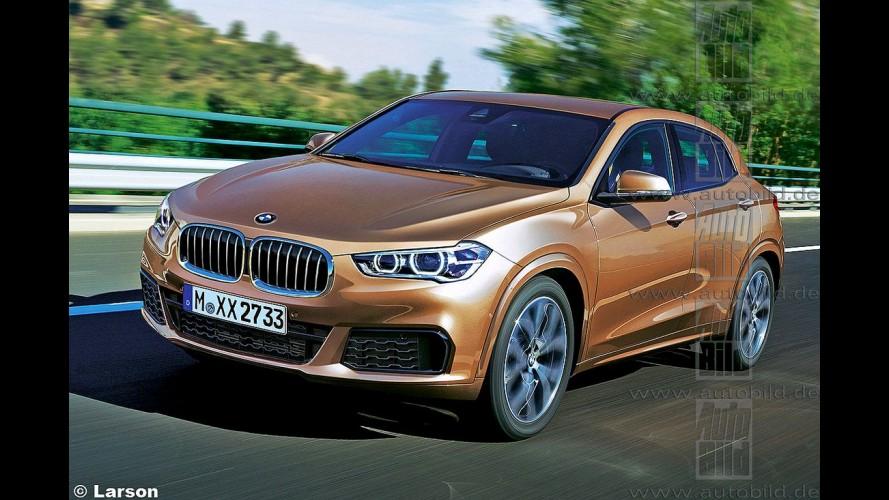 """BMW X2: """"cupê-crossover"""" é antecipado por projeção antes da estreia"""
