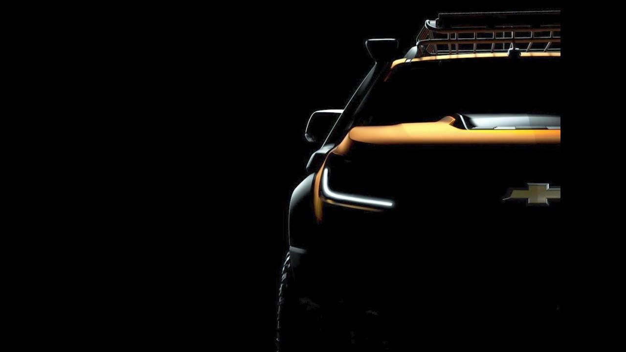 Irmã da S10, GM Colorado 2017 terá facelift antecipado por conceito na semana que vem