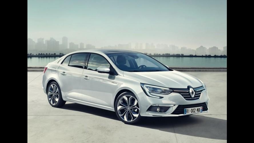 "Segredo: Novo Renault Mégane Sedan virá ao Brasil, mas ""no momento certo"""