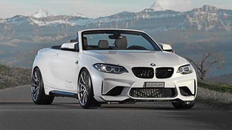 Tuning - Dähler présente une BMW M2 Cabriolet