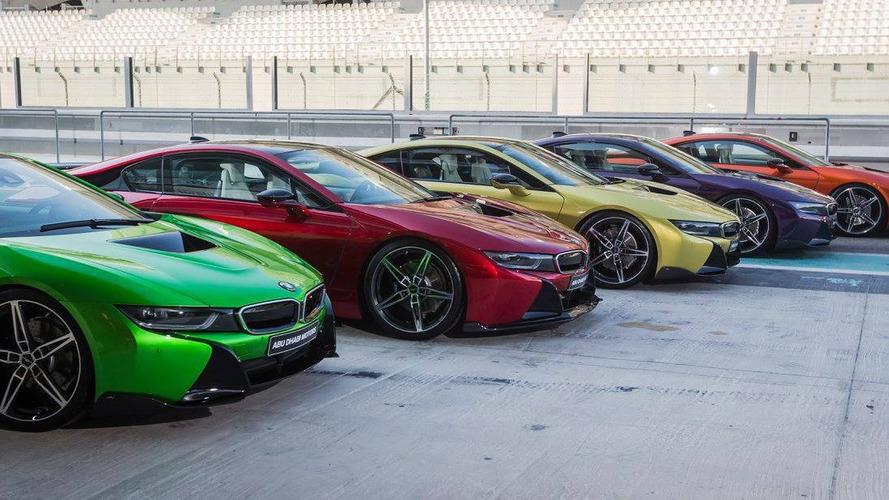 BMW i8 makyajlanacak