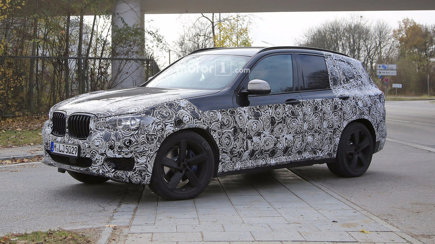 Photos espion - La nouvelle BMW X3 serait présentée en août 2017